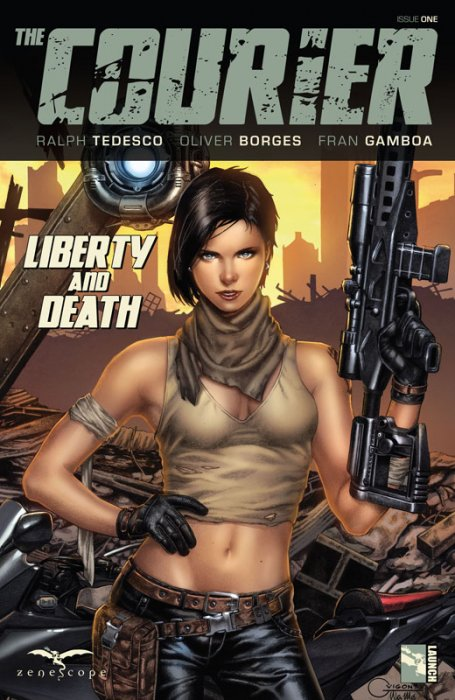 The Courier - Liberty and Death #1