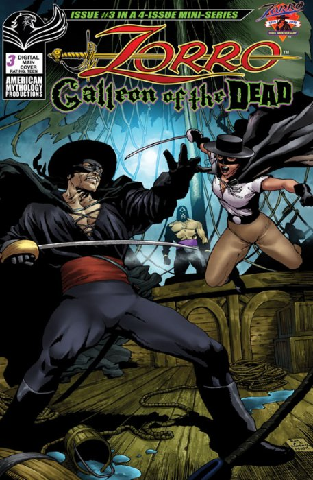 Zorro - Galleon of the Dead #3