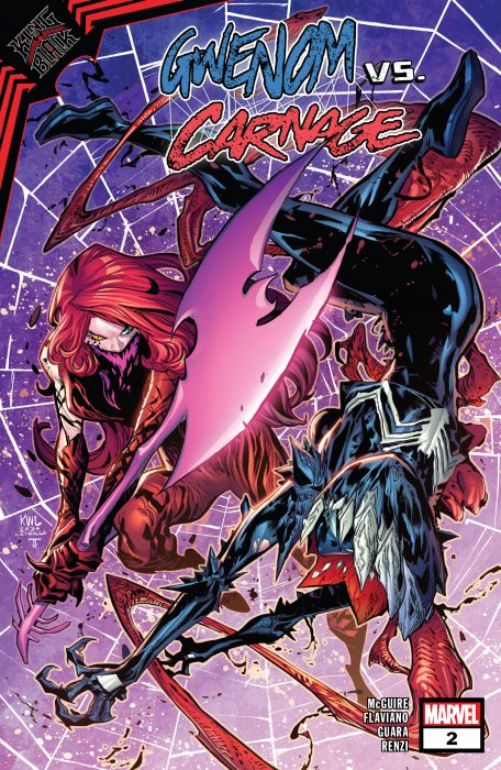 King in Black - Gwenom vs. Carnage #2