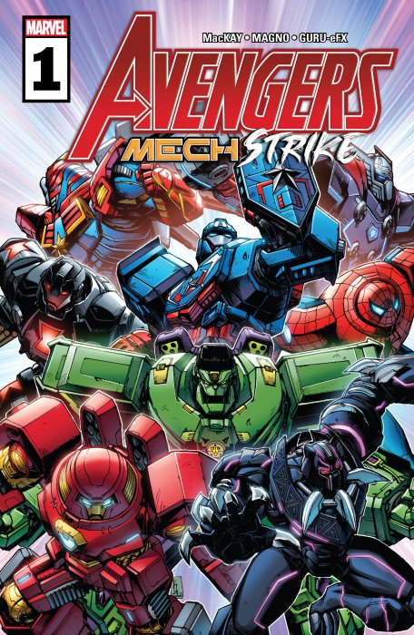 Avengers - Mech Strike #1