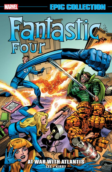 Fantastic Four Epic Collection Vol.6 - At War With Atlantis