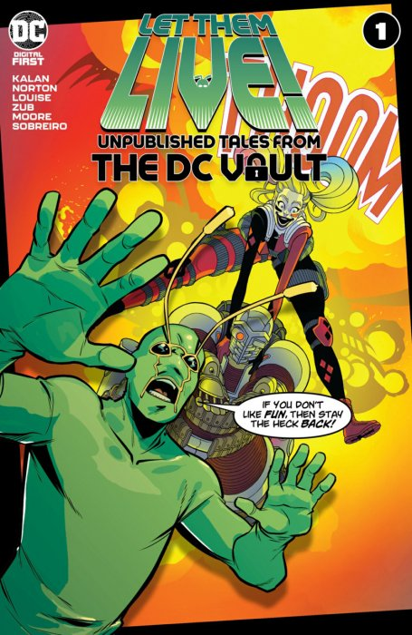 Let Them Live - Unpublished Tales From The DC Vault #1