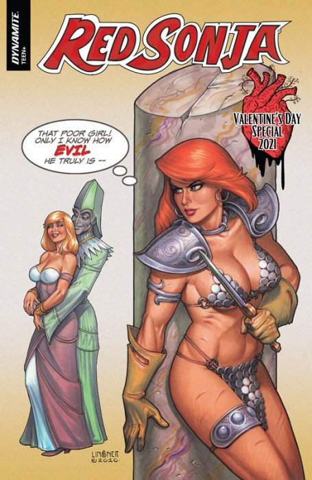 Red Sonja Valentine's Special #1