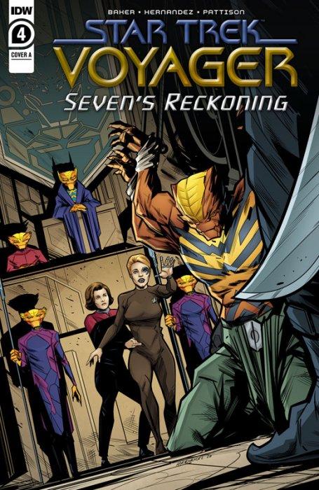 Star Trek - Voyager - Seven's Reckoning #4