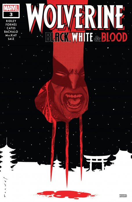 Wolverine - Black, White & Blood #3