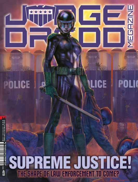 Judge Dredd Megazine #429