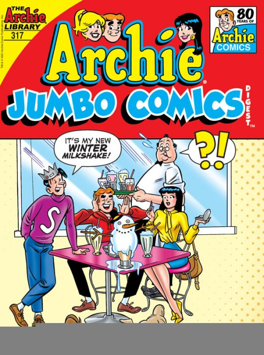 Archie Comics Double Digest #317