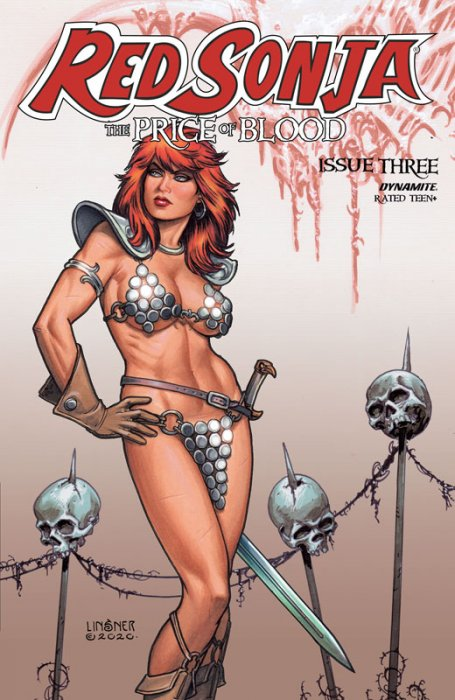 Red Sonja - Price of Blood #3