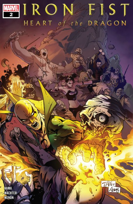 Iron Fist - Heart of the Dragon #2
