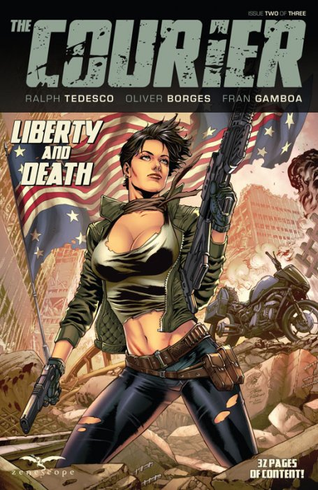 The Courier - Liberty and Death #2