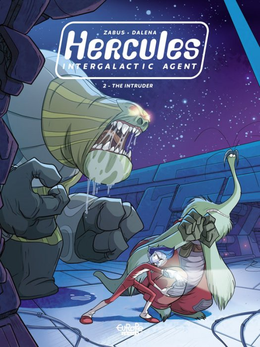 Hercules Intergalactic Agent #2 - The Intruder