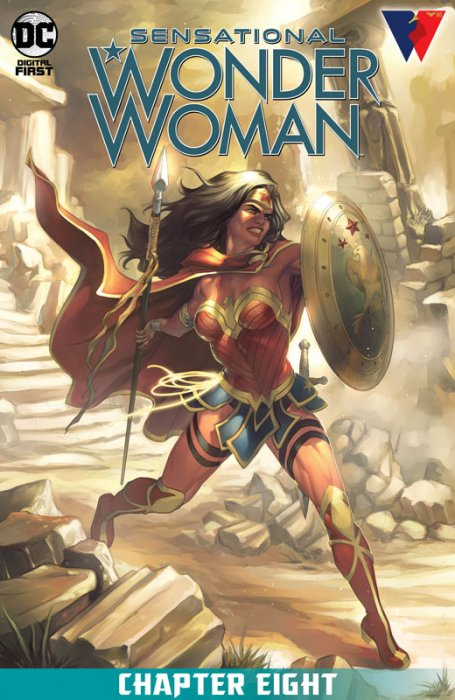Sensational Wonder Woman #8