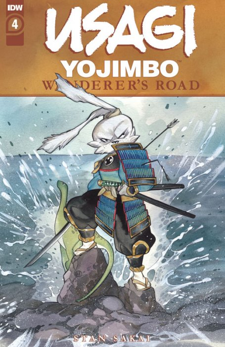 Usagi Yojimbo - Wanderer's Road #4