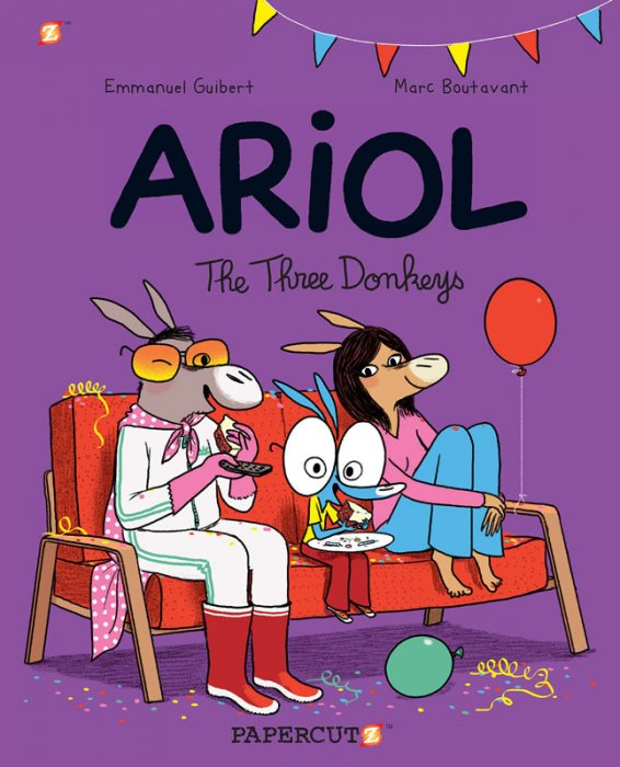 Ariol #8 - The Three Donkeys