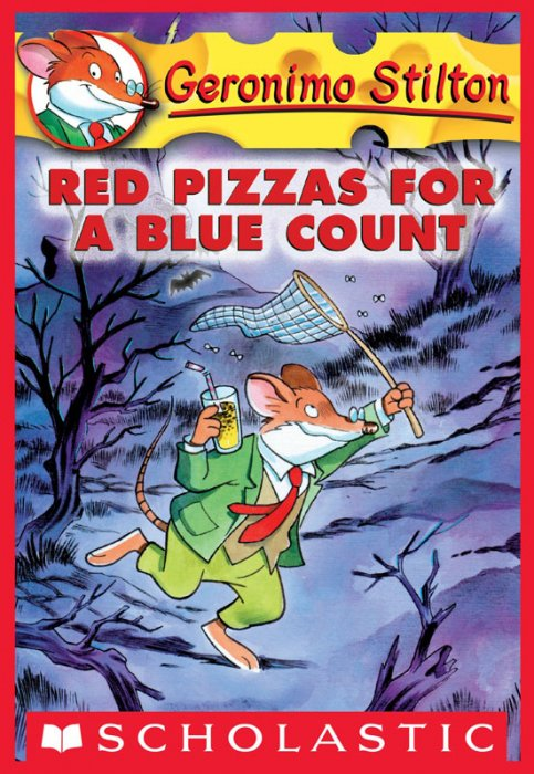 Geronimo Stilton #7 - Red Pizzas for a Blue Count
