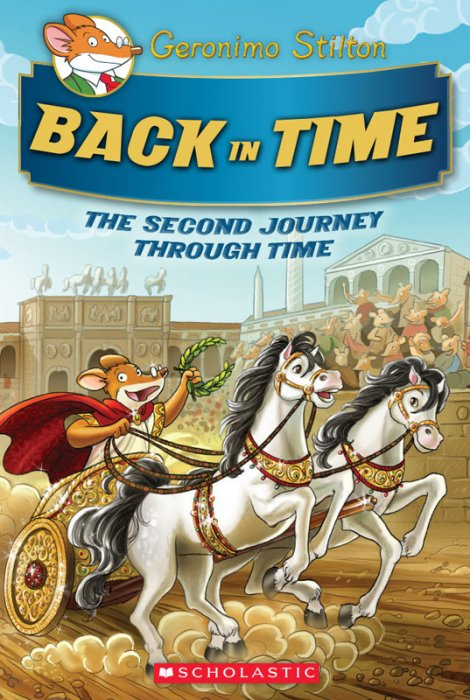 Geronimo Stilton Journey Through Time #2 - Back in Time
