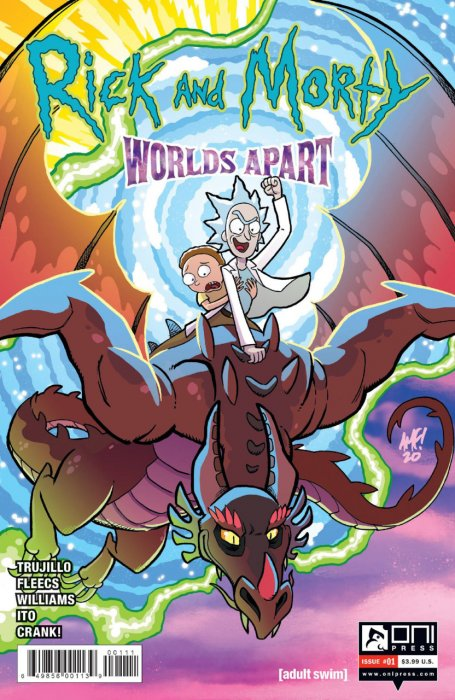 Rick and Morty - Worlds Apart #1