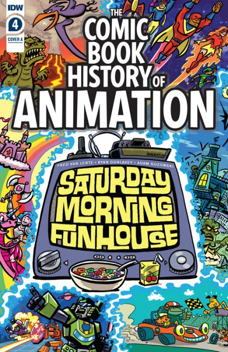 Comic Book History of Animation #4
