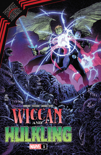 King in Black - Wiccan and Hulking #1