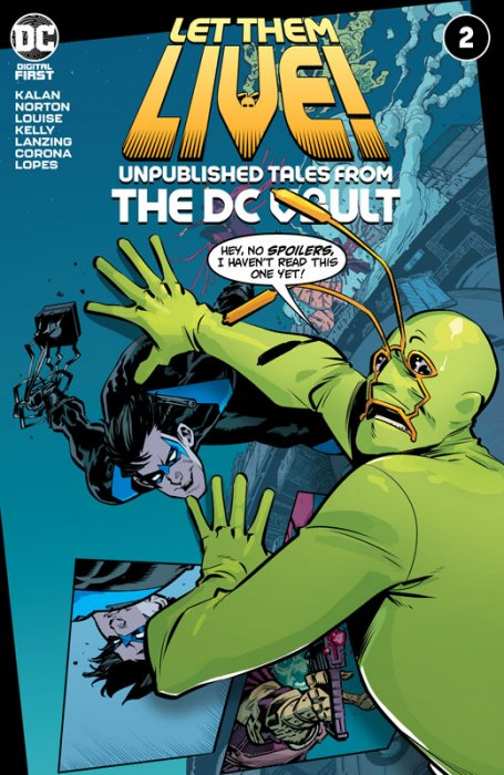 Let Them Live - Unpublished Tales From The DC Vault #2