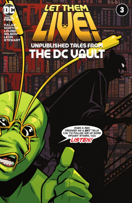 Let Them Live - Unpublished Tales From The DC Vault #3