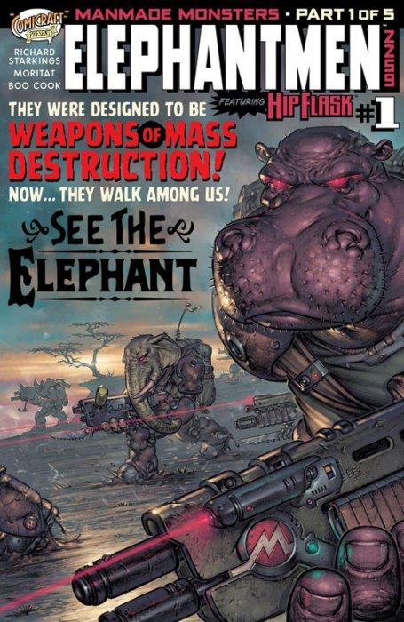 Elephantmen 2259 #1-5 Complete