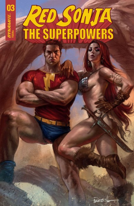 Red Sonja - The Super Powers #3
