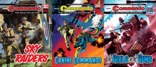Commando #5400-5418