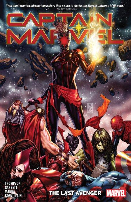 Captain Marvel Vol.3 - The Last Avenger