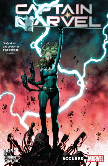 Captain Marvel Vol.4 - Accused