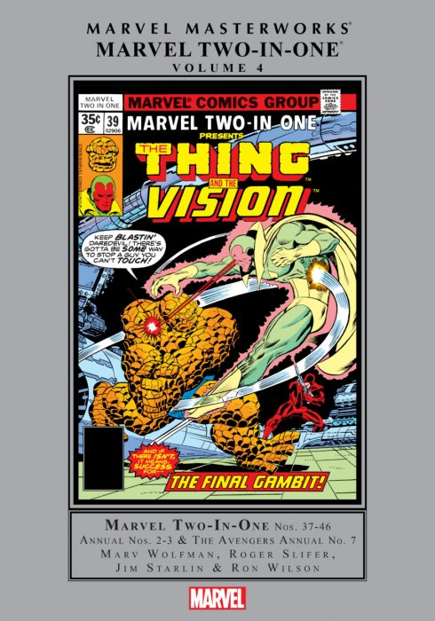 Marvel Masterworks - Marvel Two-In-One Vol.4