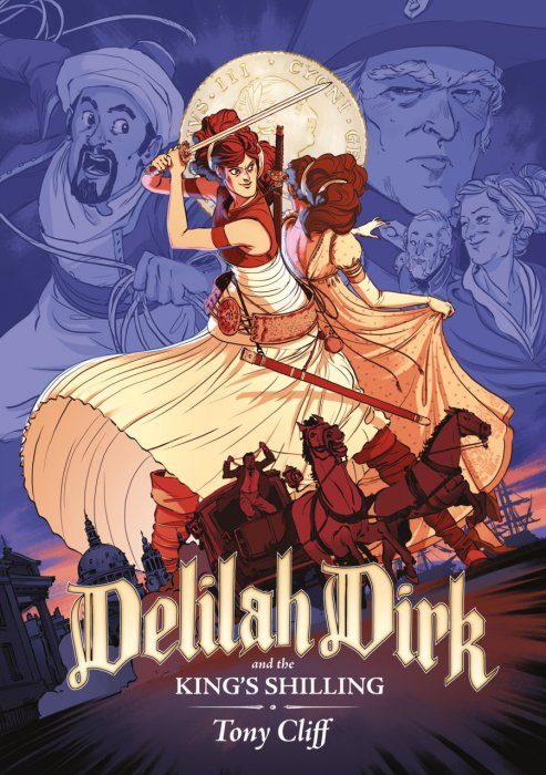 Delilah Dirk and the King's Shilling #1