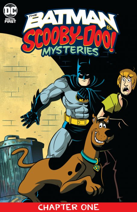 The Batman & Scooby-Doo Mysteries #1