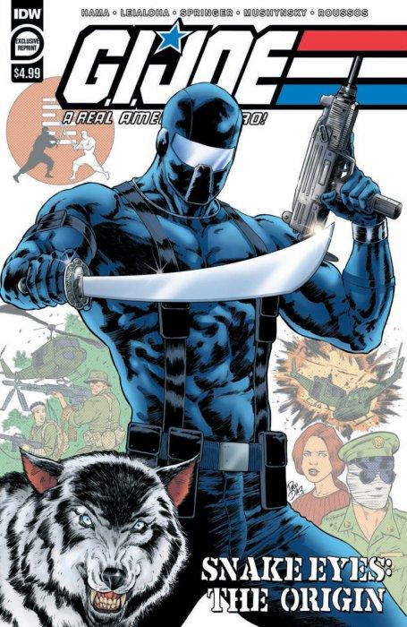 G.I. Joe - A Real American Hero - Snake Eyes - The Origin #1