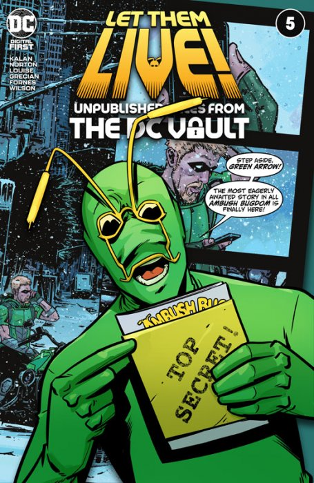 Let Them Live - Unpublished Tales From The DC Vault #5