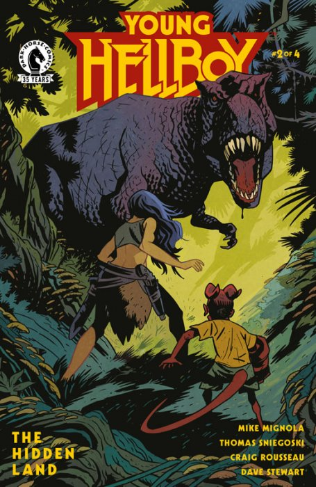 Young Hellboy - The Hidden Land #2
