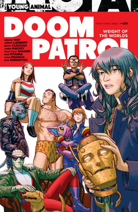 Doom Patrol – Weight of the Worlds #1 - TPB