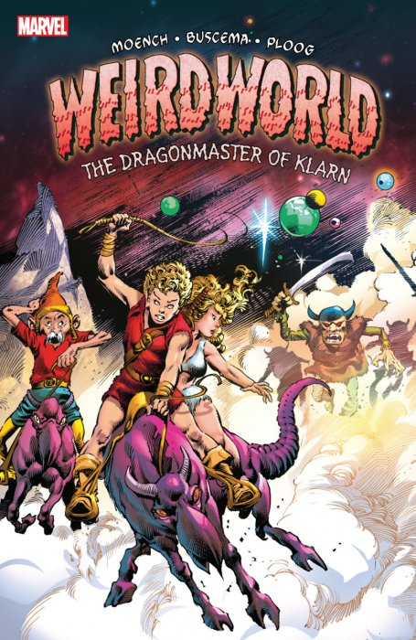 Weirdworld - The Dragonmaster Of Klarn #1 - TPB