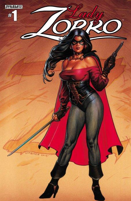 Lady Zorro #1-4 Complete
