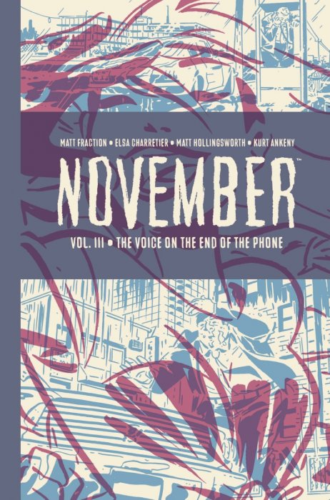 November Vol.3 - The Voice on the End of the Phone