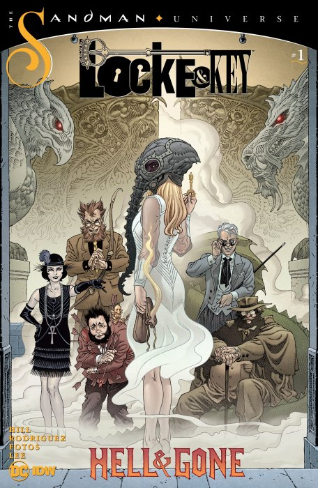 Locke & Key - Sandman - Hell & Gone #1