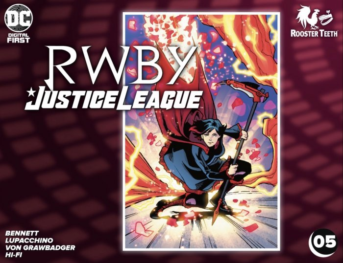 RWBY - Justice League #5