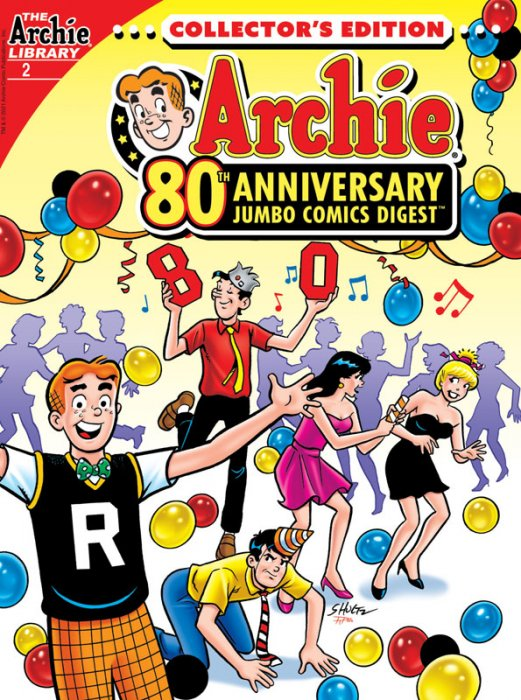 Archie 80th Anniversary Comics Digest #2
