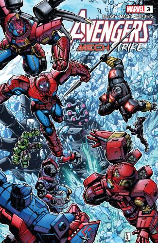 Avengers - Mech Strike #3