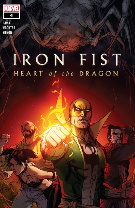 Iron Fist - Heart of the Dragon #4