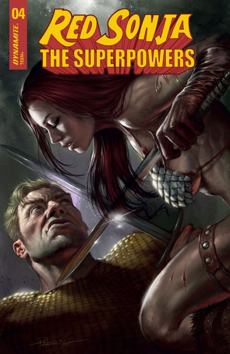 Red Sonja - The Super Powers #4