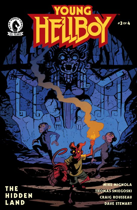 Young Hellboy - The Hidden Land #3