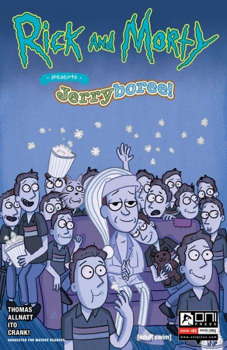 Rick and Morty Presents - Jerryboree #1