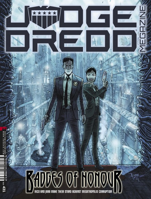 Judge Dredd Megazine #431
