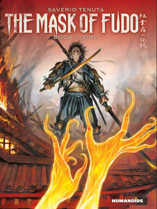 The Mask of Fudo #3 - Fire